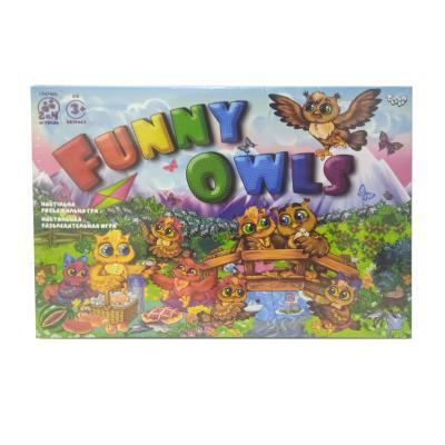 """Развлекательная игра """"Funny Owls"""""""