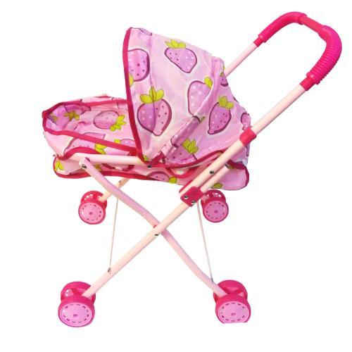 Зимняя коляска для куклы, колеса - 8шт, 6.5см, 7700-013С