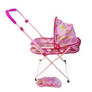 Зимняя коляска для куклы, колеса - 4шт, 8см, к