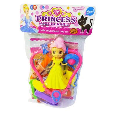 Набор доктора, с принцессой, в пакете