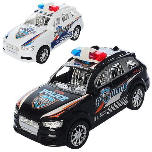 Машинка XH375-75A (120шт) полиция, инер-я, 20см, 2, XH375-75A