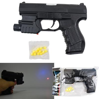 Пистолет HC-777L (180шт) 15см, на пульках, свет, л