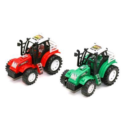 Трактор 1035A (288шт) инер-й, 14см, 2цв, в кульке