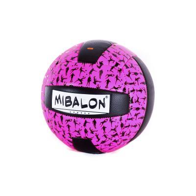 Мяч волейбольный ПУ, 260-280г, 6цветов, в кульке