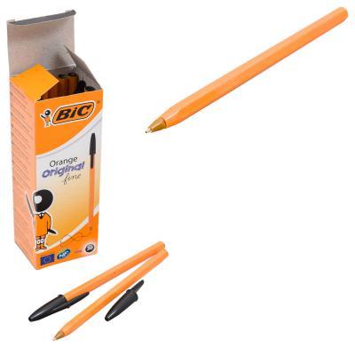 Ручка BIC, шариковая, чёрная, 20 шт. (цена за штуку)