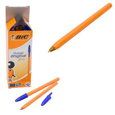 Ручка BIC, шариковая, синяя, 20 шт. (цена за штуку)
