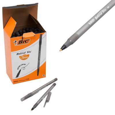 Ручка BIC, чёрная, 60 шт. (цена за штуку)