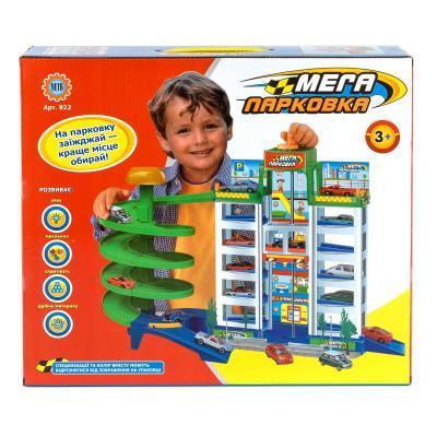Гараж 6 этажей, 4машинки, в кор-ке, 39,5-34-5-10см