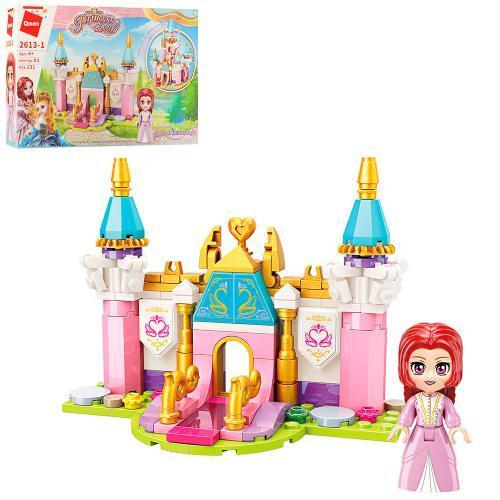 Конструктор Qman 2613-1 (64шт) замок принцессы, фи, 2613-1 Qman