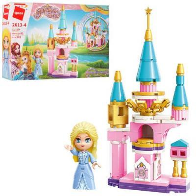 Конструктор Qman 2613-4 (64шт) замок принцессы, фи, 2613-4 Qman