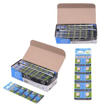 Батарейка таблетка T&E (цена за 10 шт.), C13