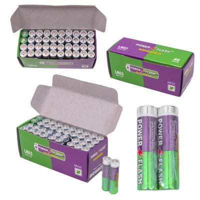 Батарейка микро Pover Flesh (цена за 2 шт.), LR03-1