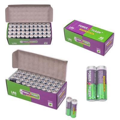 Батарейка пальчиковая Pover Flesh (цена за 2 шт.), LR6-1