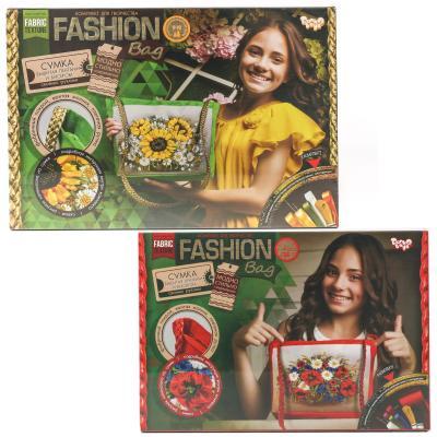Набор для твор. Fashion Bag вишивка лентами