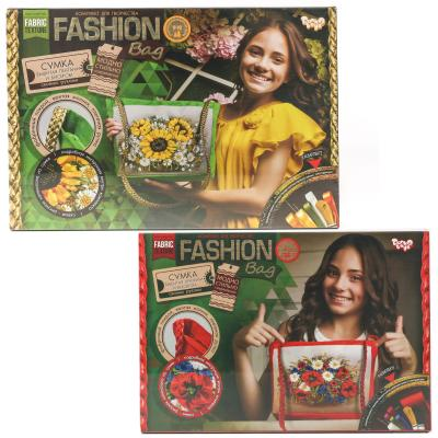 "Набор ""Fashion Bag"", вышивка лентами"