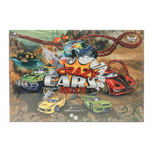 Настольная развл. игра Крейзи Cars Rally/20 (ДТ), ДТ-ИМ-11-30