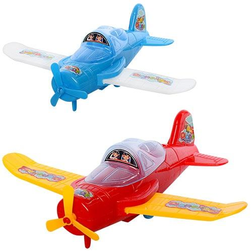Самолет 520-15 (240шт) 20см, 2цвета, в кульке, 20, 520-15