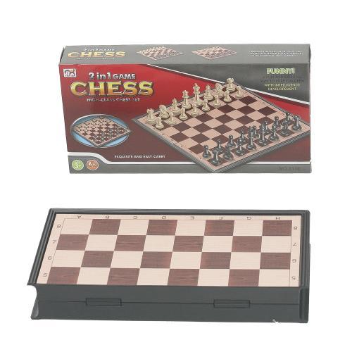 Шахматы 2 в 1, 3138
