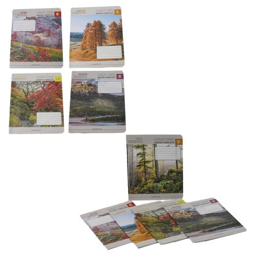 Тетрадь в линию, 12 листов (цена за упаковку), TE52112