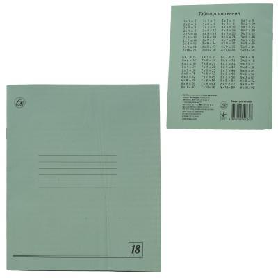 Тетрадь в клетку, 18 листов (цена за упаковку)