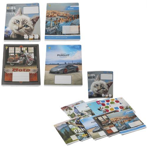 Тетрадь в клетку, 18 листов (цена за упаковку), TE51220