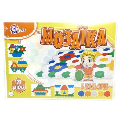 Мозаика для малышей, 127 деталей
