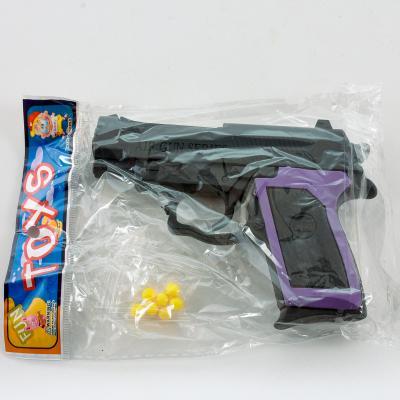 Пистолет MX809 (600шт) на пульках, 12см, в кульке, MX809