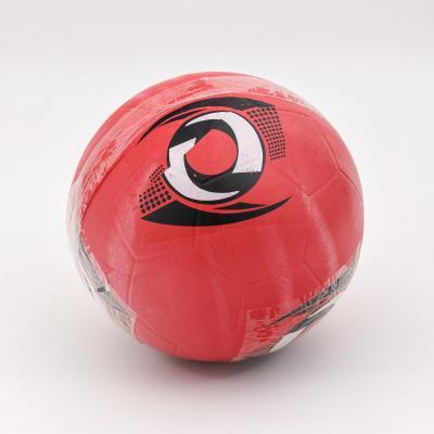 Мяч футбольный, ПВХ, 280-300г,четыре цвета в ящике, SL-5-25