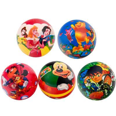 Мяч детский резиновый, два цвета в ящике, 9 дюймов