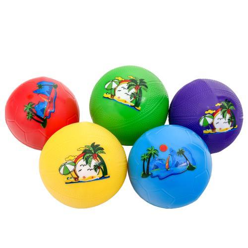 Мяч детский резиновый, 4 дюйма, 4 цвета, 24 г, SL-5-32