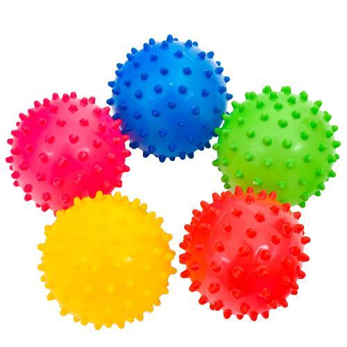 Мяч детский резиновый, 3 дюйма, 4 цвета, 20г, SL-5-35