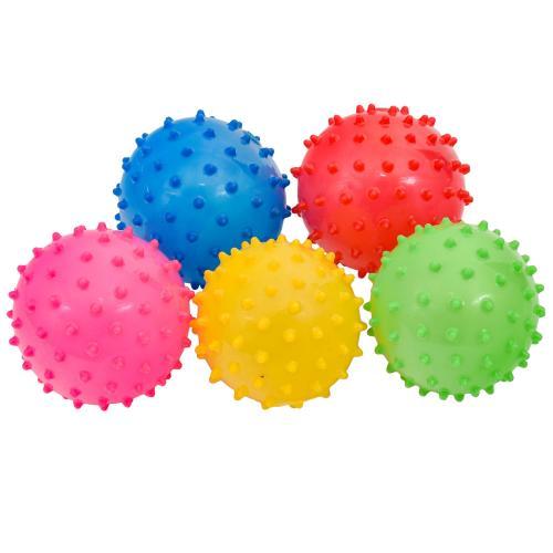 Мяч детский резиновый, 4 дюйма, 4 цвета, 20г, SL-5-34