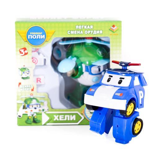 Трансформер RP, робот+машинка, 10см, оружие, 4вида, DT-335