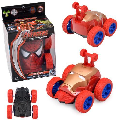 Машинка Spiderman, инерционная, 028AB