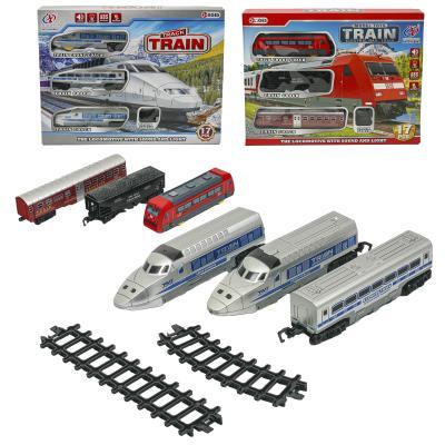 Железная дорога Train Coach, 17 деталей