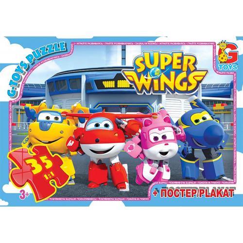 """Пазлы из серии """"Super Wings"""", 35 элементов, GP-UW225"""