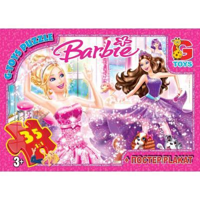 """Пазли из серии """"Барби"""", 35 елементов"""