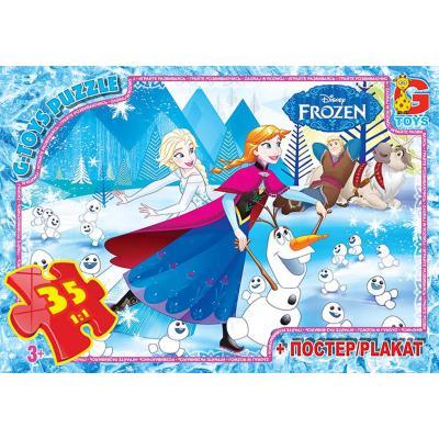 """Пазлы из серии """"Frozen"""", 35 элементов"""