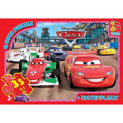 """Пазли ТМ """"G-Toys"""" із серії """"Тачки"""", 35 елементів"""