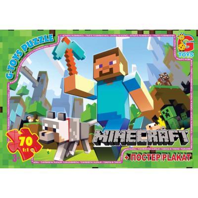 """Пазли из серии """"Minecraft"""" (Майнкрафт), 70елементов"""