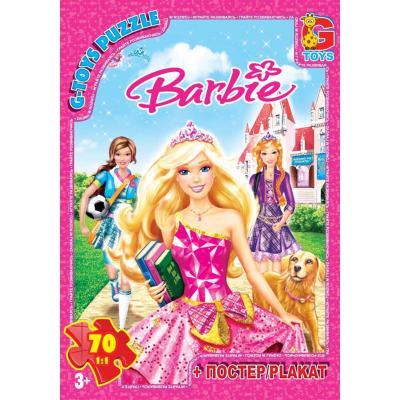 """Пазли из серии """"Барби"""", 70 елементов"""