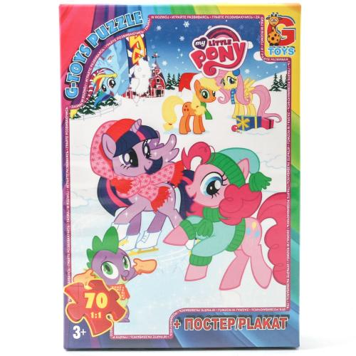 "Пазли ТМ ""G-Toys"" із серії ""My little Pony"" (Моя м, MLP005"