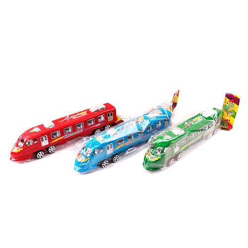 Поезд 1326A (360шт) инер-й, 27см, 3цвета, в кульке, 1326A
