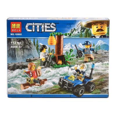 """Конструктор Bela Cities """"Убежище в горах"""" 112 деталей"""