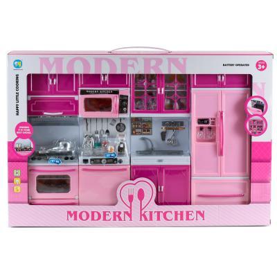 Мебель (плита, холодильник, мойка, шкафы)