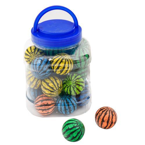 4 см, каучук, 6 цветов в банке,24 шт в колбе, SL-604-26 (2601)