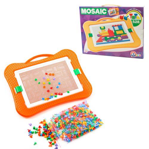 Мозаика для малышей , 528 деталей, Техно 3008