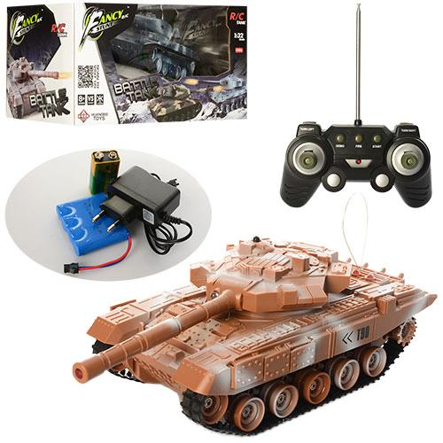 Танк HB-TK07-8 (18шт) р/у, аккум, 27см, 1:32, звук, HB-TK07-8