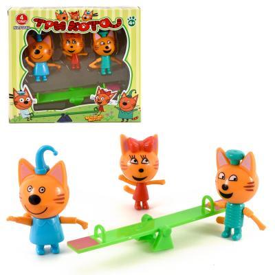 "Набор фигурок ""Три кота"" в коробке"