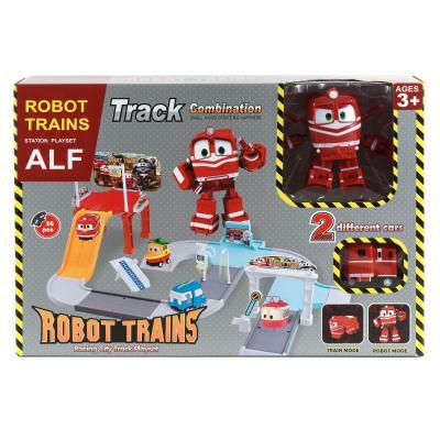 """Паркинг """"Робот Поезд"""" + трансформер Alf, SZ-827A"""